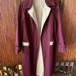 Vintage Ladies Aigner Trench Coat Wrap